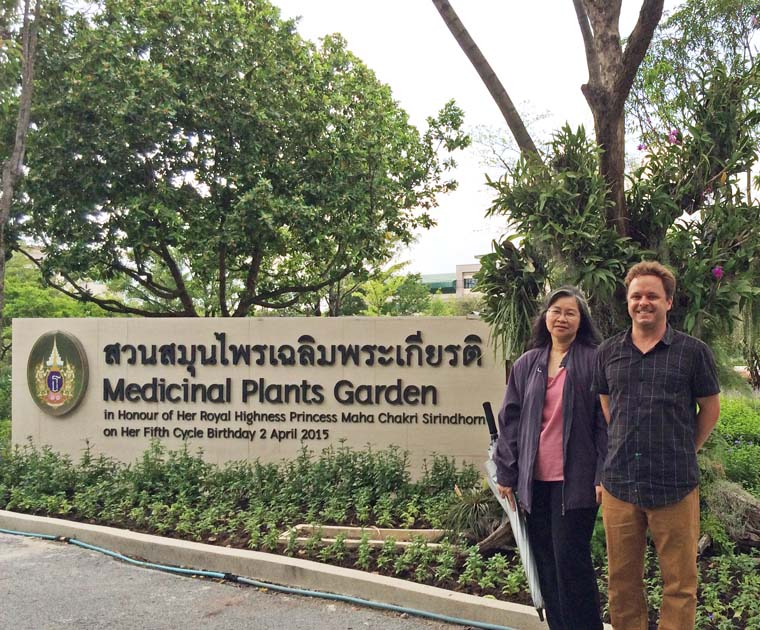 Dr. Kevin Curran in Bangkok, Thailand